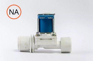 """Válvula Solenóide - 180° 3/4"""" x 3/4"""" 12V DC - NA - Nascimetal"""