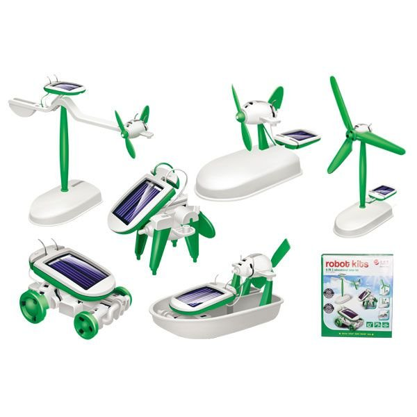 Kit Robô Solar 6 em 1