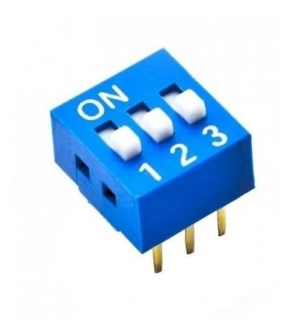 Chave DIP Switch 3 Vias