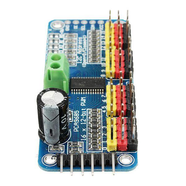 Módulo PWM PCA9685 I2C - 16 Canais para Servo