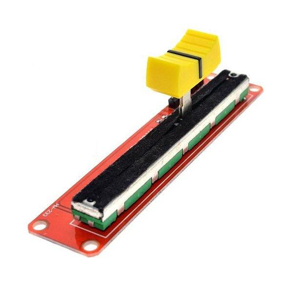 Módulo Potenciômetro Linear Deslizante 10K