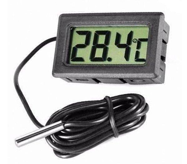 Termômetro Digital LCD para Ambientes (sem bateria)