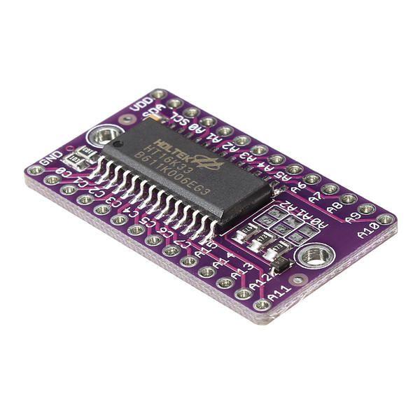 Módulo Controlador de Matriz de LED HT16K33 I2C