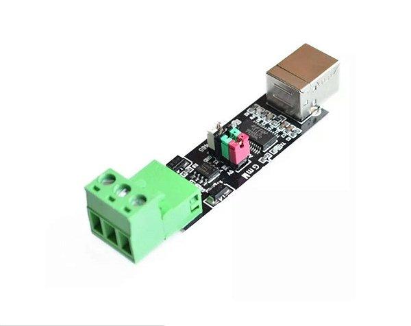 Módulo Conversor Conversor USB 75176 para Serial RS485