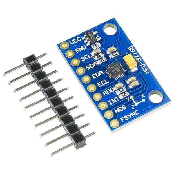 Módulo Acelerômetro 9 Eixos Mpu-9250