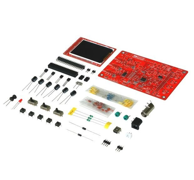 Kit Osciloscópio Digital DSO138 - DIY