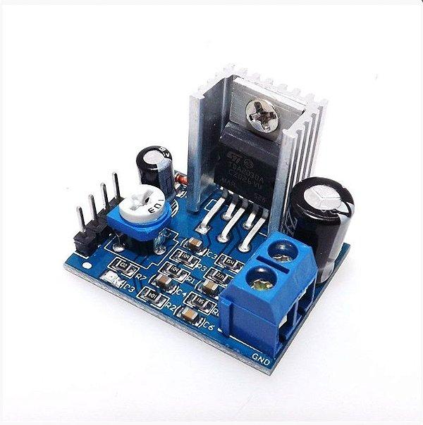 Módulo Amplificador de Áudio TDA2030