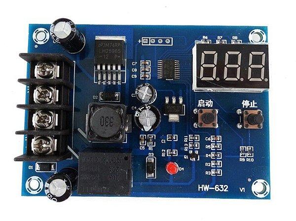 Módulo Controlador de Carga - Bateria Solar - XH-M603
