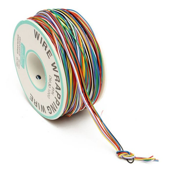 Fio Wire Wrap 120M 30AWG - 8 Cores