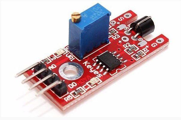 Sensor de Toque e Detecção de Metal KY-036