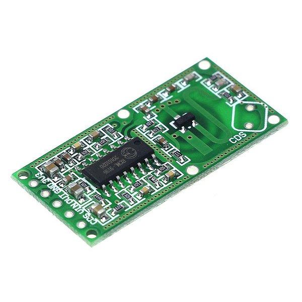 Sensor de Presença e Movimento - Detector de Microondas RCWL-0516