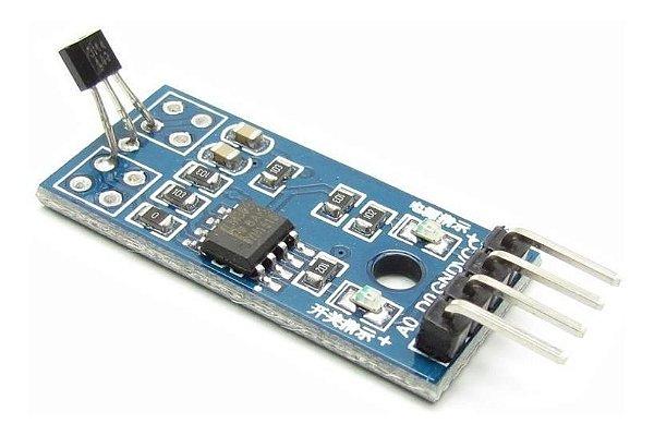 Módulo Sensor de Efeito Hall 3144E