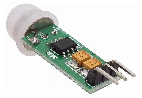 Mini Sensor de Movimento Presença PIR
