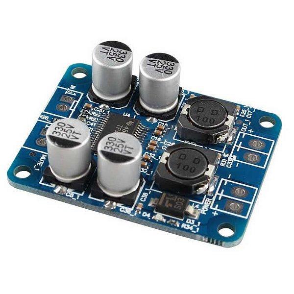 Módulo Amplificador de Áudio 60W - TPA3118