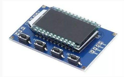 Gerador de Sinal PWM com LCD e Frequência Ajustável