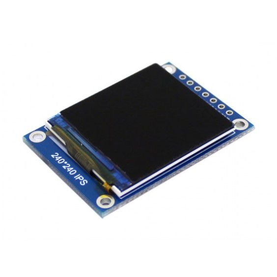 """Display TFT LCD 1.3"""" SPI RGB 240x240 ST7789"""