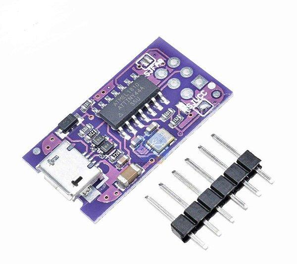 Módulo Micro USB Attiny44