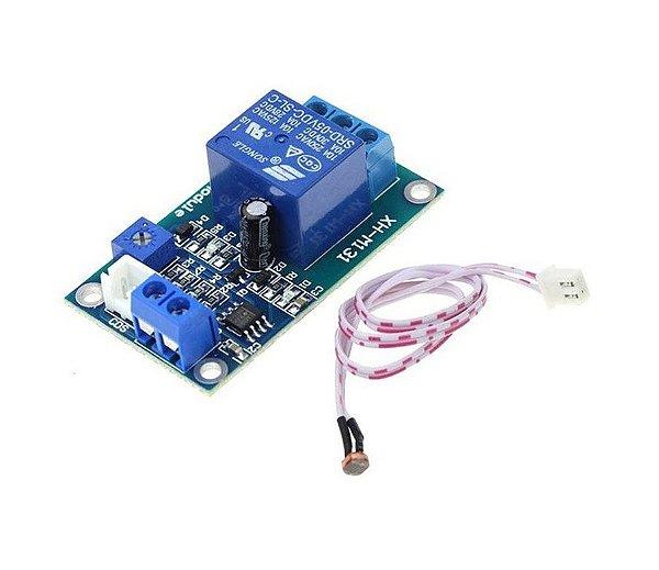 Módulo Relé 12V com Sensor de Luz LDR XH-M131