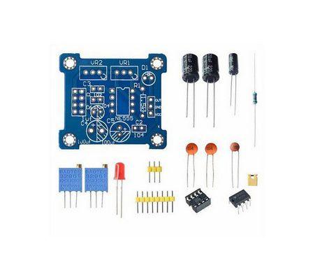 Kit Módulo NE555 Gerador de Pulso Frequência - 1Hz a 200kHz - DIY