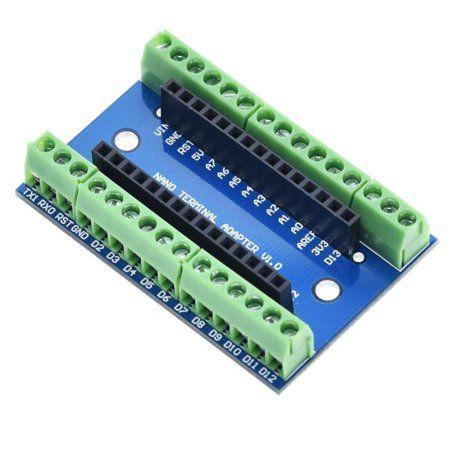 Placa de Expansão para Arduino Nano (Montada)