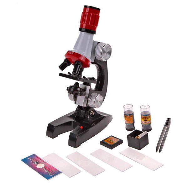Microscópio Educacional 100x-1200x
