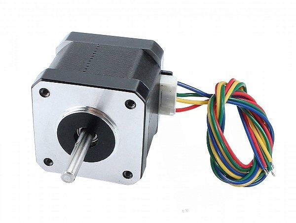 Motor de Passo NEMA 17 – 4,5 kgf.cm / 1,5A