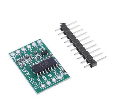 Mini Módulo Conversor 24bit Hx711 p/ Célula De Carga