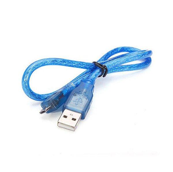 Cabo Micro USB para Arduino Leonardo, Micro, DUE e Raspberry Pi
