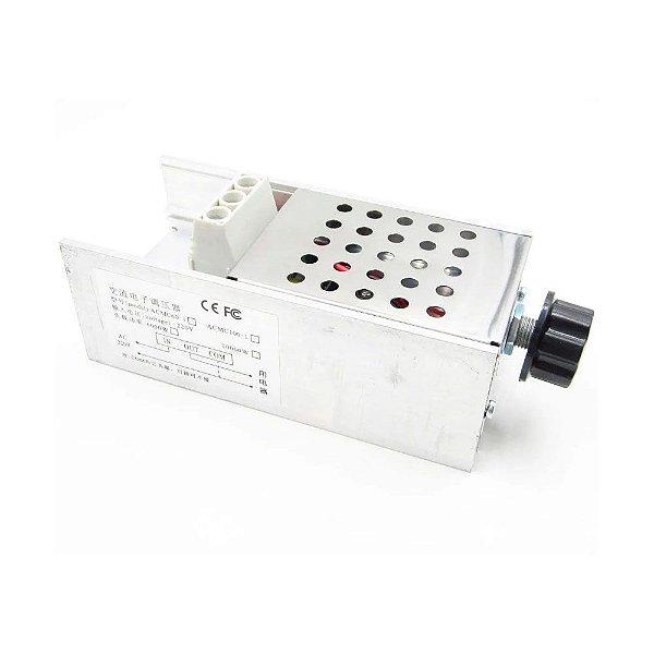 Módulo Dimmer AC SCR Metálico 220V 10000W