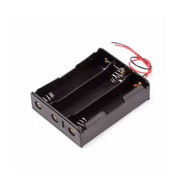 Suporte para 3 Baterias 18650 - SERIE