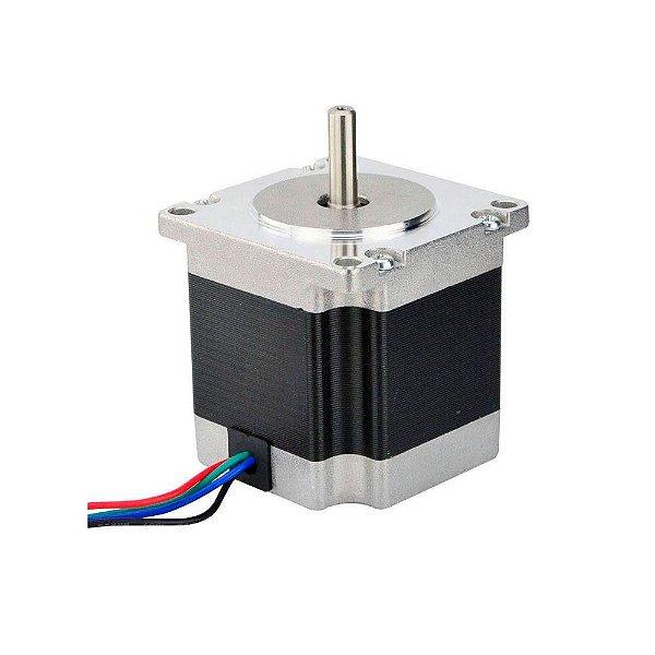 Motor de Passo NEMA 23 - 12,6 kgf.cm / 2,8A