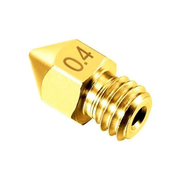 Bico para Extrusora Hotend Impressora 3d - Nozzle -  0.4mm Mk8