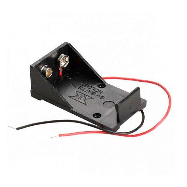 Suporte para Bateria 9V (Case para bateria 9V)