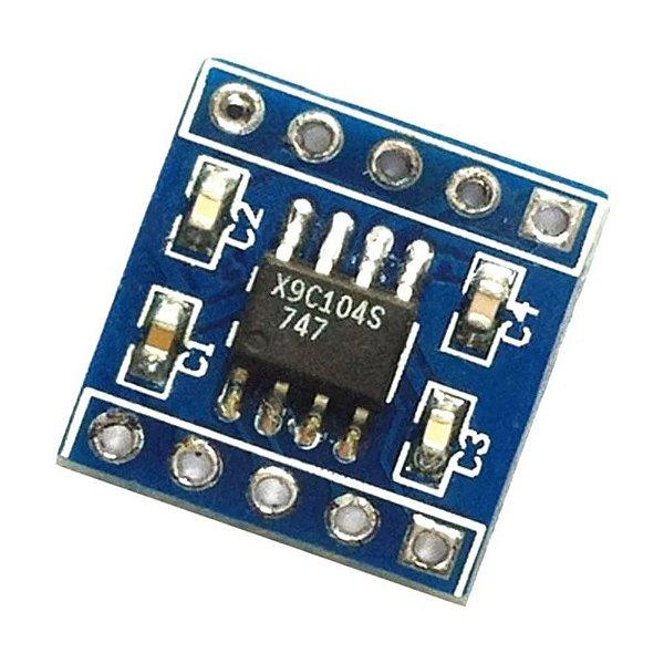 Módulo Potenciômetro Digital 100K X9C104S