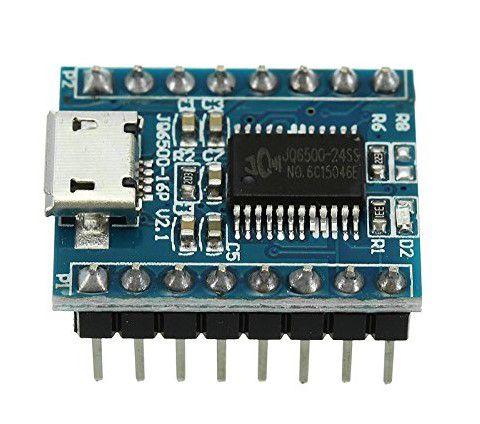 Módulo Processador de Som e Voz JQ6500 - Micro USB