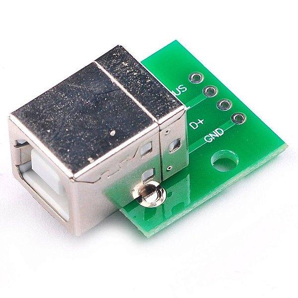 Módulo Adaptador USB B para DIP