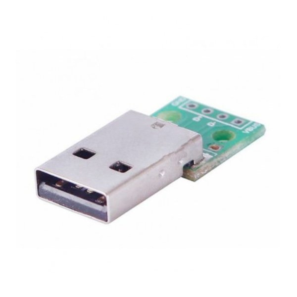 Módulo Adaptador USB Macho 2.0 para DIP