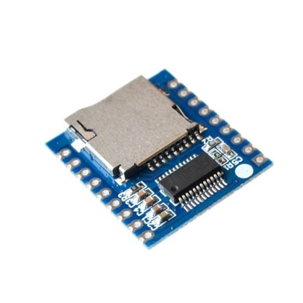 Módulo Controlador de Som e Voz XY-V17B MCU SD-TF MP3