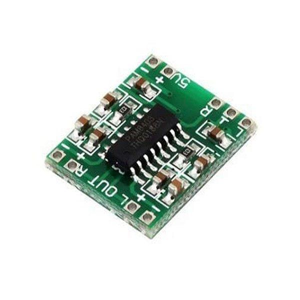 Mini Módulo Amplificador de Som Estéreo PAM84032