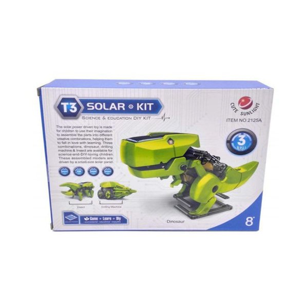 Kit Robô Solar Educacional 3 em 1