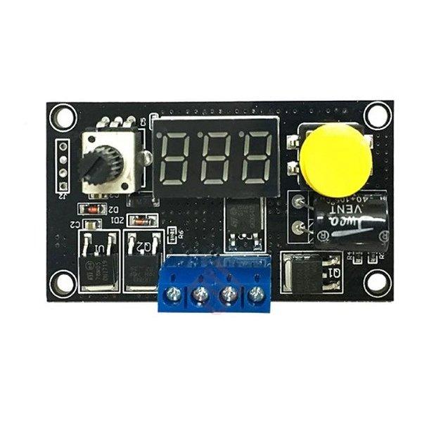 Controlador de Velocidade 6-30V 8A PWM