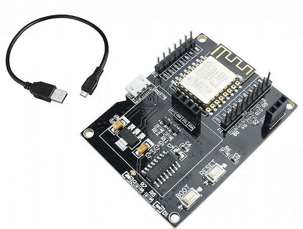 Módulo WiFi ESP8266 IOT USB 12F - Para Oled e DHT11