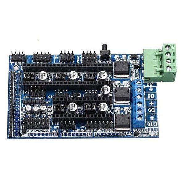 Shield Ramps 1.5 para Impressora 3D RepRap para Arduino