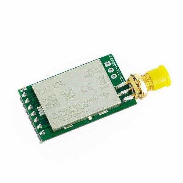 Módulo RF Wireless LoRa 433MHz - Longo Alcance