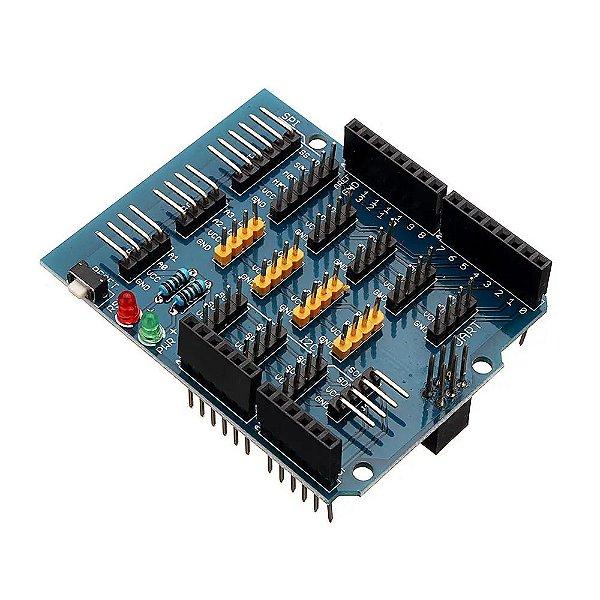 Base Shield para Expansão de Entradas e Saídas V1.1 para Arduino