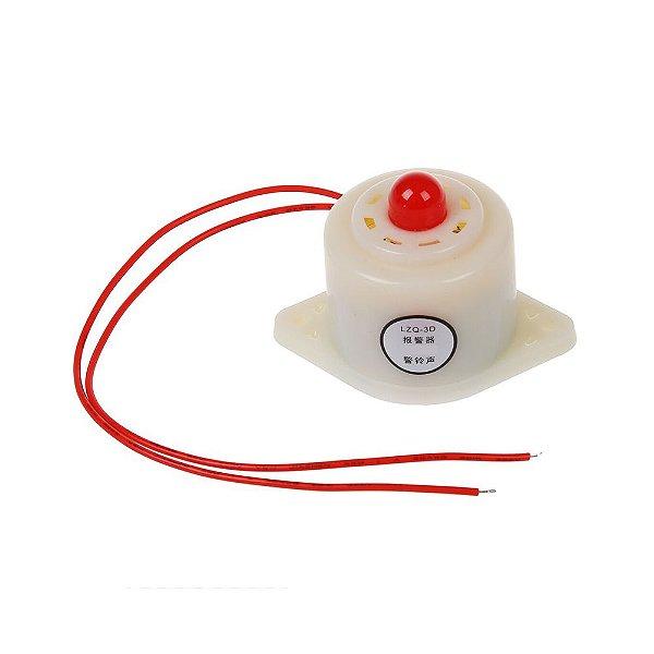 Buzzer Eletrônico de Alta Definição 12V - LZQ-3D