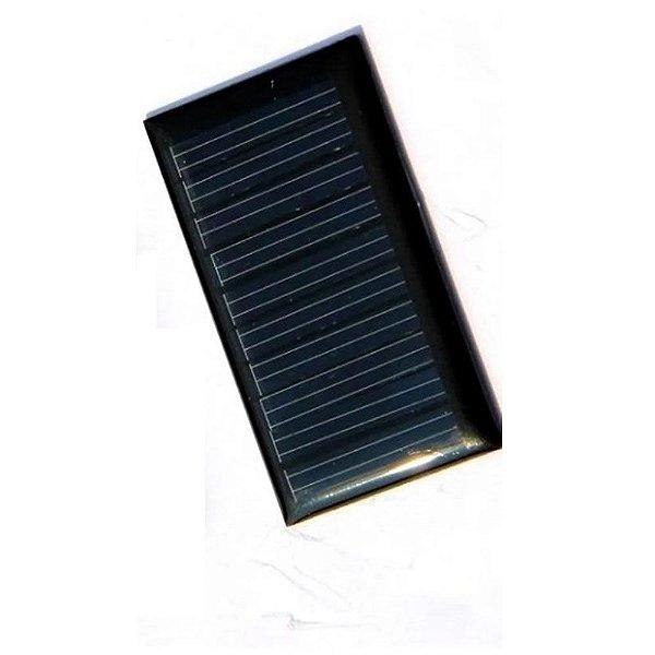 Mini Painel Solar Fotovoltaico 0,5V - 160mA
