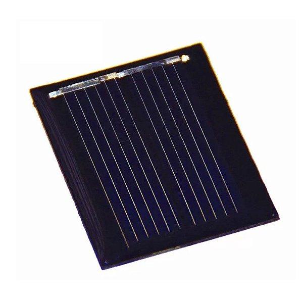 Mini Painel Solar Fotovoltaico 2V - 80mA