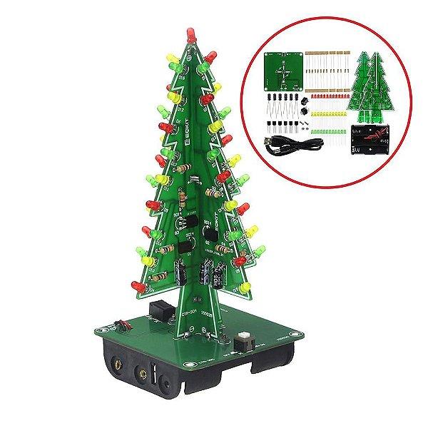 Kit Experimento Árvore de Natal - DIY