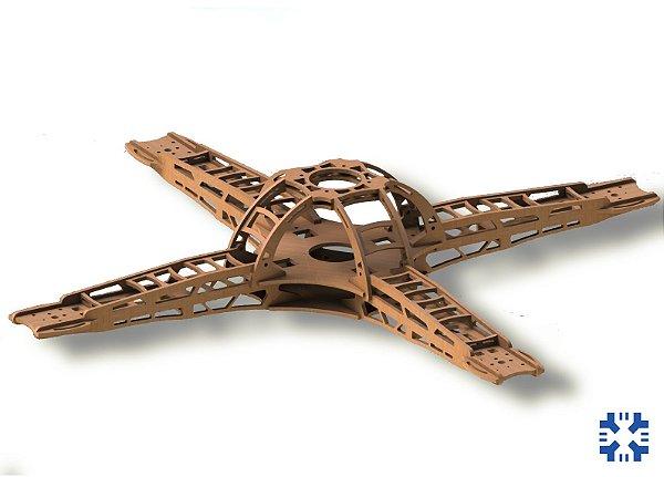 Frame Drone MDF Maker - Estrutura